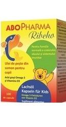 Ulei de Peste cu Vitamina D3 pentru copii - AboPharma