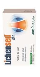 Lichensed Comprimate pentru gat - AboPharma