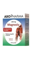 Magneziu cu complex de vitamina B - AboPharma
