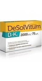 DeSolVitum D3-K2 2000UI D3  - Aflofarm