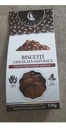 Biscuiti vegani fara zahar cu cu ciocolata naturala - Ambrozia