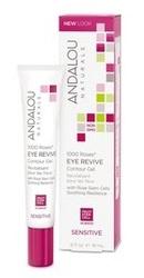 1000 Roses Eye Revive Contour Gel - Andalou Naturals