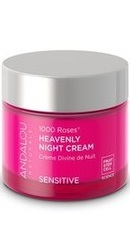 1000 Roses Heavenly Night Cream - Andalou Naturals