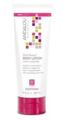1000 Roses Soothing Body Lotion - Andalou Naturals