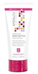 1000 Roses Velvet Soft Body Butter - Andalou Naturals