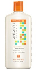 Argan Oil Shea Moisture Rich Conditioner - Andalou Naturals