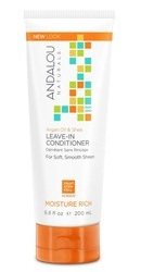 Argan Oil Shea Moisture Rich Leave-In Conditioner - Andalou Naturals