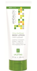 Citrus Sunflower Uplifting Body Lotion - Andalou Naturals