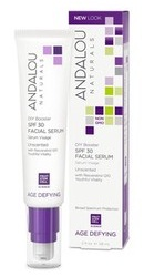 DIY Booster SPF30 Facial Serum Unscented - Andalou Naturals