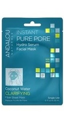 Instant Pure Pore Hydro Serum Facial Mask - Andalou Naturals