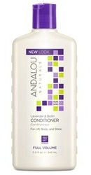 Lavender Biotin Full Volume Conditioner - Andalou Naturals