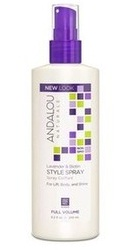 Lavender Biotin Full Volume Style Spray - Andalou Naturals