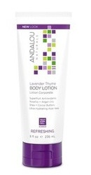 Lavender Thyme Uplifting Body Lotion - Andalou Naturals