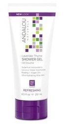 Lavender Thyme Refreshing Shower Gel - Andalou Naturals
