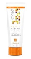 Mandarin Vanilla Vitalizing Body Lotion - Andalou Naturals