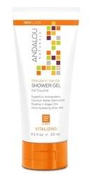 Mandarin Vanilla Vitalizing Shower Gel - Andalou Naturals