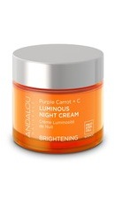 Purple Carrot C Luminous Night Cream - Andalou Naturals