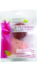 Sensitive Konjac Facial Sponge Duo - Andalou Naturals