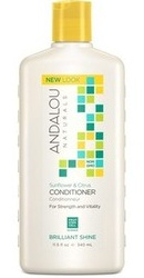 Sunflower Citrus Brilliant Shine Conditioner - Andalou Naturals