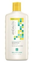 Sunflower Citrus Brilliant Shine Shampoo - Andalou Naturals