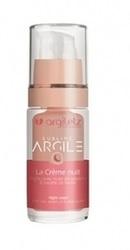 Crema hidratanta de noapte pentru stralucire cu argila roz - Argiletz