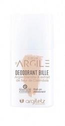 Deodorant Roll-on cu argila alba si flori de galbenele - Argiletz