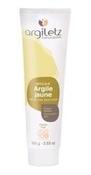 Masca naturala din argila galbena Ready-to-use pentru ten mixt - Argiletz