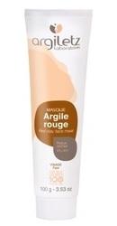 Masca naturala din argila rosie Ready-to-use pentru ten uscat - Argiletz