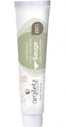 Remineralizare Pasta de dinti bio cu argila verde si salvie - Argiletz
