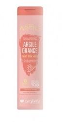 Sampon cu argila portocalie pentru par vopsit sau deteriorat - Argiletz