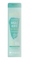 Sampon cu argila verde si miere pentru par gras - Argiletz