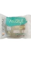 Sapun solid exfoliant cu argila verde si alge - Argiletz