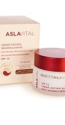 Aslavital Mineralactiv Crema antirid mineralizanta SPF15 - Farmec