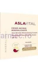 Aslavital Mineralactiv Crema intens hidratanta SPF10 - Farmec
