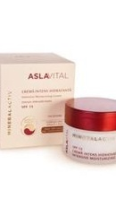 Aslavital Mineralactiv Crema intens hidratanta SPF15 - Farmec