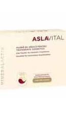 Aslavital Mineralactiv Pudra de argila pentru tratamente cosmetice  - Farmec