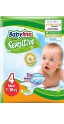 Scutece Sensitive NR 4 - Babylino