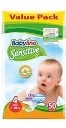 Scutece Sensitive Economy NR 4 - Babylino
