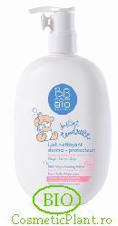 Lapte de curatare dermo-protector pentru fata, corp, fundulet - BBcomBIO