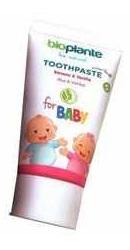 Pasta dinti naturala copii 0-3 ani cu Banane si Vanilie - Bioplante