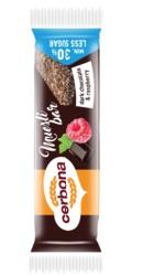 Baton Musli cu ciocolata neagra si zmeura – Cerbona