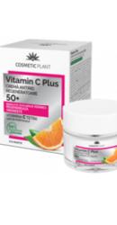 Crema antirid regeneratoare 50  Vitamin C Plus - Cosmeticplant