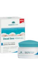 Crema de noapte pentru fermitate cu minerale de la Marea Moarta - Cosmetic Plant