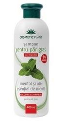 Sampon Par gras cu mentol si ulei esential de menta - Cosmetic Plant