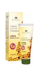 Masca hidratanta pentru fata cu miere si laptisor de matca -  Cosmeticplant