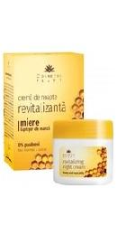 Crema de noapte revitalizanta cu miere si laptisor de matca - Cosmeticplant