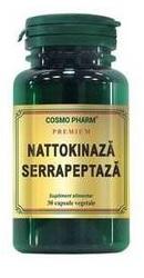 Nattokinaza Serrapeptaza - CosmoPharm