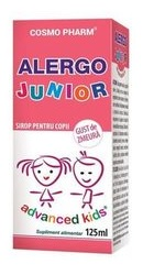 Advanced Kids Sirop Alergo Junior – Cosmopharm