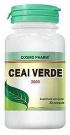 Ceai Verde 2000 - Cosmopharm