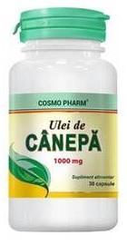 Ulei de Canepa 1000 mg - Cosmopharm